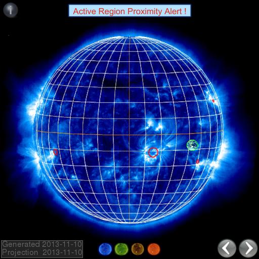 Active Region Proximity Alert