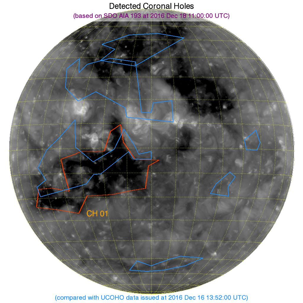 Detect Coronal Holes