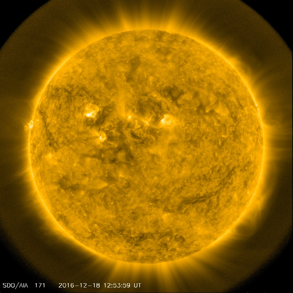 SDO AIA171 Space weather product
