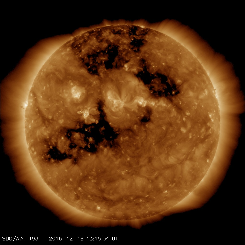 SDO AIA193 Space Weather product