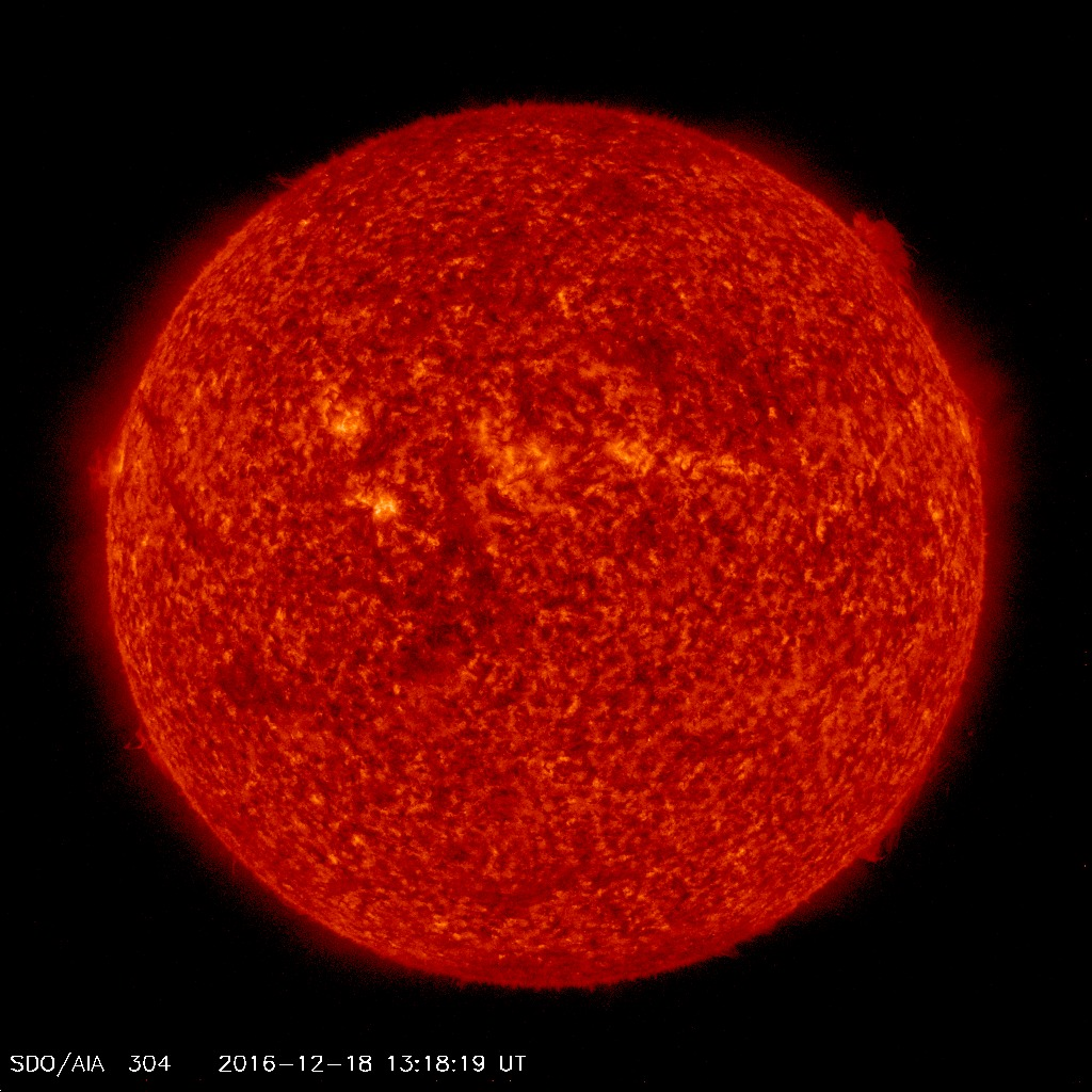 SDO AIA304 Space Weather product